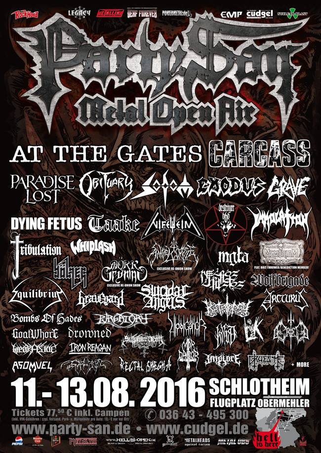Immolation confirmed for Party.San 2016